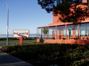 Picante Playa, Shoreline Dr. and Park St., Alameda, California, January 2004