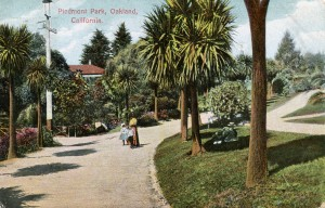 Piedmont Park, Oakland, California, mailed 1910