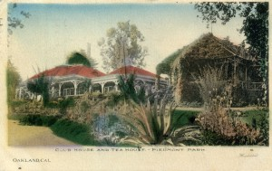 Club House and Tea House, Piedmont Park, Oakland, CAL