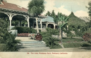The Cafe, Piedmont Park, Oakland, California