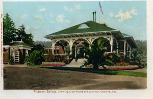 Piedmont Springs showing Club House, Oakland, California