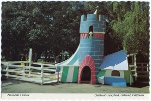 Pinocchio's Castle, Children's Fairyland, Oakland, California