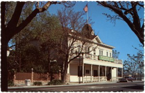 Pleasanton Hotel, Restaurant and Saloon, Pleasanton, Califorrnia