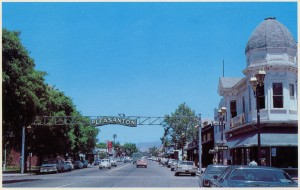 Pleasanton, California in Alameda, County - site of the annual county fair.