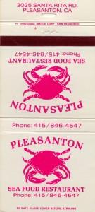 Pleasanton Sea Food Resturant, 2025 Santa Rita Rd., Pleasanton CA