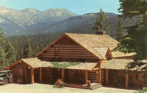 Ponderosa Ranch, Cartwright's Home overlooking Lake Tahoe, Incline Village, Nevada