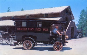 Ponderosa Ranch, Paddy Wagon, Incline Village, Nevada