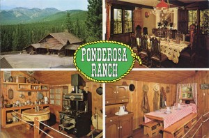 Ponderosa Ranch, Ranch House, Dining Room, Kitchen and Mess Hall, Incline Village, Lake Tahoe, Nevada