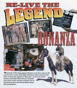 Ponderosa Ranch, Tahoe's Premier Attraction, Western Studio and Theme Park, Brochure B