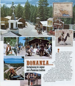 Ponderosa Ranch, Western Fun for Everyone, brochure, A
