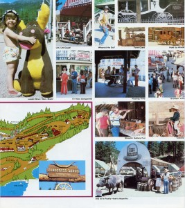 Ponderosa Ranch, Western Fun for Everyone, brochure, C