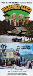 Ponderosa Ranch, Western Fun for Everyone, brochure, cover