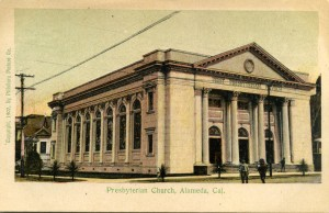 Presbyterian Church, Alameda, Cal., mailed 1907