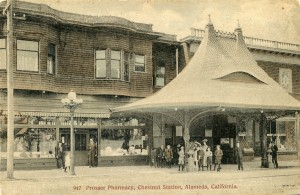 Prosser Pharmacy, Chestnut Station, Alameda, California