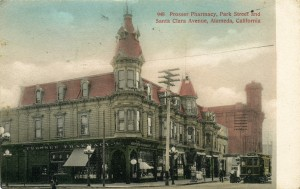 Prosser Pharmacy, Park Street and Santa Clara Avenue, Alameda, California