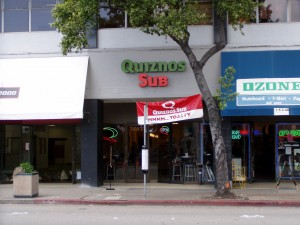 Quiznos Sub 1431A Park St., Alameda, California March 2005