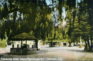 Rebecca Well, Idora Park, Oakland, Cal.