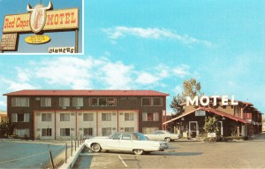 Red Cape Motel and Sky Room Restaurant, 29083 Mission Blvd., Hayward, California
