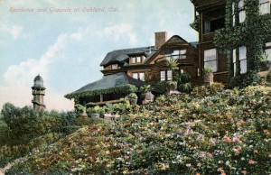 Residence and Grounds at Oakland, California