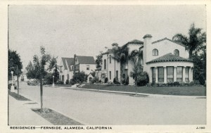 Residences, Fernside Blvd., Alameda, California