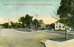 Rockerie, Alameda and Central Aves., Alameda, California, mailed 1913