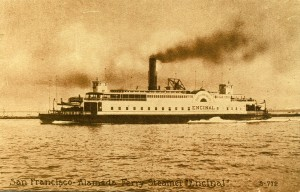 San Francisco - Alameda Ferry Steamer - Encinal