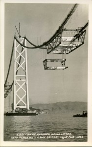 Bay Bridge Lifting Section