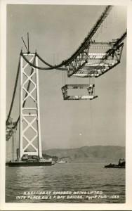 Bay Bridge Lifting Section