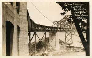 Bay Bridge, East from  Yerba Buena