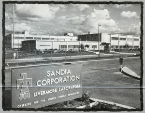 Sandia Corporation, Livermore Laboratory, operated for the Atomic Energy Commission, circa 1968