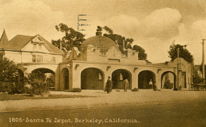 Santa Fe Depot, Berkeley, California