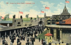 Scene in Idora Park, Oakland, Cal.