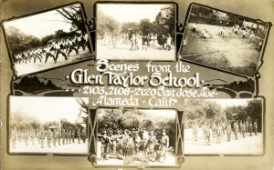 Scenes from the Glen Taylor School, 2103, 2108-2120, San Jose Ave., Alameda, Calif.