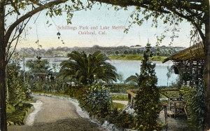 Schilling's Park and Lake Merritt, Oakland, California