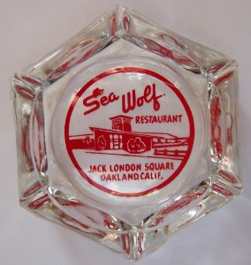 Sea_Wolf_Restaurant_Oakland_CA_ashtray_red