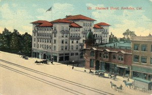 Shattuck Hotel, Berkeley, Cal.