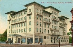 Shattuck Hotel, Berkeley, California, mailed 1911