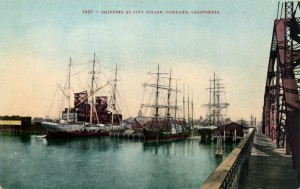 Shipping at City Wharf, Oakland, California