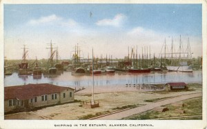 Shipping in the Estuary, Alameda, California