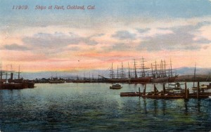 Ships at Rest, Oakland, Cal.