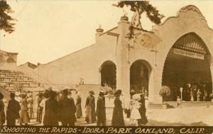 Shooting the Rapids - Idora Park, Oakland, Calif.