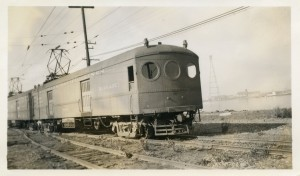 Southern Pacific Lines, Interurban Electric 700, Alameda, California, 1940