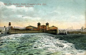 Southern Pacific Company's Ferry Slips, Oakland, California