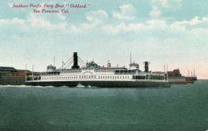 "Ferry Boat ""Oakland"", San Francisco, Cal."