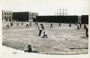 Sports at Governent Island, Alameda, California, mailed 1942