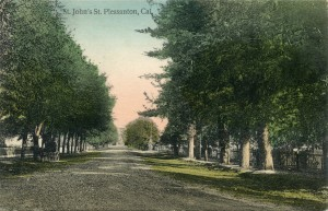 St. John's St.,Pleasanton, Cal.