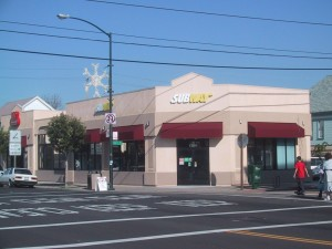 Subway Sandwiches, 1700 Webster Street, Alameda, California, January 2003