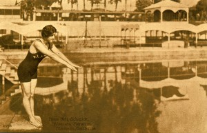 "Miss Nell Schmidt, ""Alameda Mermaid"", Alameda, California"