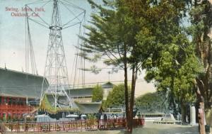 Swing, Idora Park, Oakland, Cal., mailed 1911