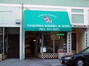 Taqueria Ramiro and Sons, 2321 Alameda Ave., Alameda, California